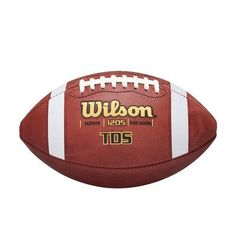 Wilson Tds High School Leather Game Football, 2015 Amazon Top Rated Football #Apparel