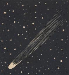 a comet among stars.