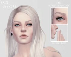 My Sims 4 Blog: Skin Overlay by CatherinEatsCabbage