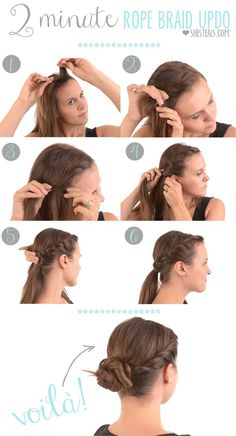 2 Minute Hairstyles Howtobeautyhair New Beauty Tutorial  Httpifttt2C8Crzc  From