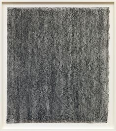 Richard Serra, Ramble 4-16, 2015, litho crayon and pastel powder on paper, 35 × 30 3/4 inches unframed (88.9 × 78.1 cm). Photo by Rob McKeever