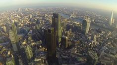 London as viewed from the Met Police helicopter