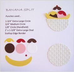 Punch Art Sundae / Banana Split - bjl