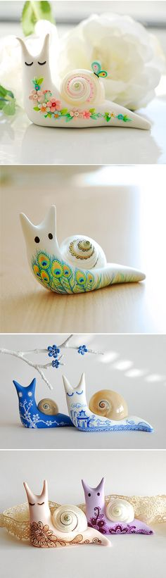 Beautiful snails