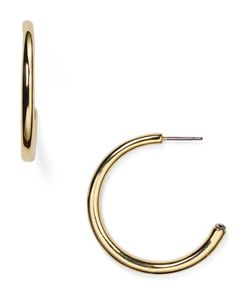 Lauren Ralph Lauren Open Hoop Earrings