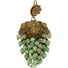 This very pretty silver gilt and jade pendant was made in China in the early century, circa the I have tested it to sterling silver Filigree Jewelry, Jade Jewelry, Art Deco Jewelry, Cheap Jewelry, Pendant Jewelry, Antique Jewelry, Vintage Jewelry, Silver Jewelry, Dolphin Jewelry