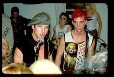 Mike Ness & Dennis Danell of Social era of the band. Johnny Rotten, Johnny Depp, Mike Ness, Sick Boy, Joey Ramone, Social Distortion, Joe Strummer, Jodie Foster, Red Cross
