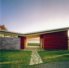 Minton Hill House by Affleck + de la Riva Architects » CONTEMPORIST