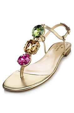 The easter bunny brought me these Kate Spade 'faith' sandals! Thanks, husband