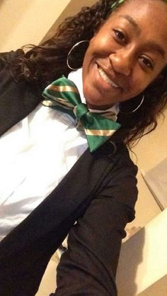 The #P5Neckwear Chief Designer, Camryn Perry, is putting in work this morning with The Pack bowtie. Yes, she tied it herslf. smile emoticon #bowtieitup #bowties #makeithappen #creativity