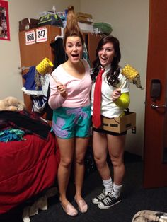 Spongebob and Patrick halloween costumes!  sc 1 st  Pinterest & Coolest Kardashian Sisters Group Costume (Including Little Mason ...