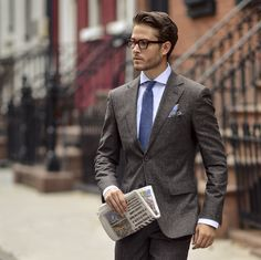 Men's fashion influencer Adam Gallagher in Suitsupply. #SUITSUPPLY #iamgalla #FW16