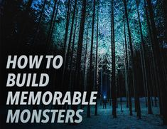 When we build terrifying monsters into our stories, they will ingrain themselves in our readers' minds, making our stories unforgettable. Book Writing Tips, Editing Writing, Fiction Writing, Writing Resources, Writing Help, Writing Skills, Writing Prompts, Writing Guide, Journal Prompts
