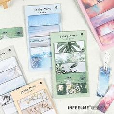 Shop Beautiful Scenery Print Mini Sticky Note at ROMWE, discover more fashion styles online. Stationery Shop, Sticky Notes, Adhesive, Old Things, Beautiful Scenery, Personalized Items, Shopping, Mini, Stationery