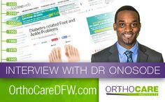 #ThrowbackThursday to when our Dr. Nere Onosode spoke extensively with EndocrineWeb about diabetes-related foot and ankle problems. Read his full interview here: http://www.endocrineweb.com/conditions/type-2-diabetes/diabetes-related-foot-ankle-problems. #OrthoCARE #TBT #Diabetes #DFW