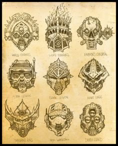 Traitor Legions by zuboros on deviantART