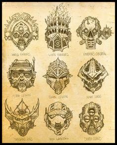 Traitor Legions by zuboros on deviantART