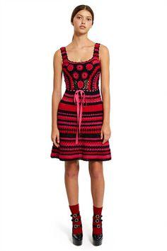 3046cc86b1e4 ADAM SELMAN OPENING CEREMONY NANADOLL CROCHET MINI DRESS. #adamselman  #cloth #