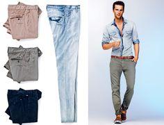 chinos pantaloni Collezione Gas Estate 2012 Uomo