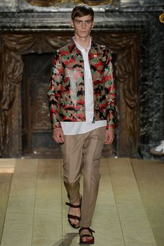 Valentino Spring 2015 Menswear Collection Slideshow on Style.com