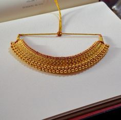 Buy Handcrafted Earrings, Necklaces, Pendants, Anklets, Bangles & Bracelets Online Price from Aadyaa. Shop from a wide collection of designer jewellery. Gold Bangles Design, Gold Earrings Designs, Gold Jewellery Design, Necklace Designs, Gold Designs, Bridal Jewelry Vintage, Gold Wedding Jewelry, Bridal Jewellery, Jewellery Box