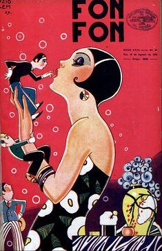 — lesanneeselegantes: Fonfon - 1929