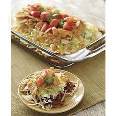 Super Taco Salad Recipe | www.countrydoor.com