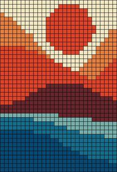 Cross Stitch Art, Cross Stitch Designs, Cross Stitch Patterns, Tapestry Crochet Patterns, Crochet Wall Hangings, Pixel Crochet, Crochet Chart, Bracelet Patterns, Beading Patterns