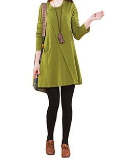 Ammy Fashion Women's Roll Neck Oversized Jersey Dress Green Size UK 10 Ammy Fashion http://www.amazon.co.uk/dp/B00OQ1T5VO/ref=cm_sw_r_pi_dp_fqQSub0WEXVWR
