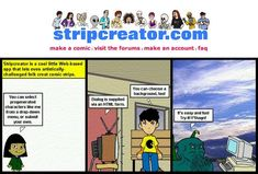 Strip Creator - Easily make your own online comic strips. Warning: very addictive. http://www.stripcreator.com/