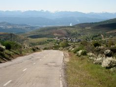 Descent to Ponferrada, Spain. http://www.cyclefiesta.com/cycling-holidays/camino.htm