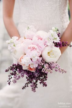 12 Stunning Wedding Bouquets ~ Photography: Brklyn Photography // Floral Design:  Blush Design NY | http://www.bellethemagazine.com/2013/12/12-stunning-wedding-bouquets-part-24.html