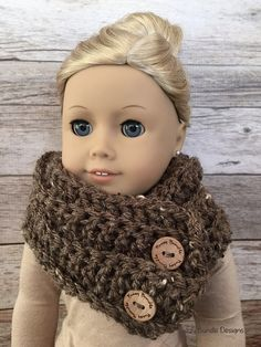 """Quick & Easy Crochet Patterns for 18"""" American Girl Dolls by Fuzzy Bundle                                                                                                                                                                                 More"""