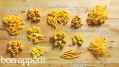 How to Make 29 Handmade Pasta Shapes With 4 Types of Dough | Handcrafted | Bon Appétit - YouTube