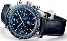 Omega Speedmaster Moonphase Chronograph Master Chronometer Watch For 2016 Watch Releases