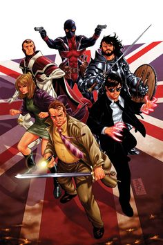 Rob Williams Leads The Charge for Marvel UK's KNIGHTS OF PENDRAGON and SUPER SOLDIERS | Newsarama.com