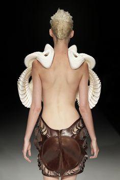 Crystallization* (2010)    Amsterdam Fashion Week  *with Iris Van Herpen and .MGX