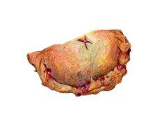 Strawberry Hand Pie Illustration