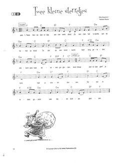 Twee kleine sterretjes 1 Teaching Music, Christmas Games, Music Notes, Sheet Music, Singing, Seasons, School, Advent, Google