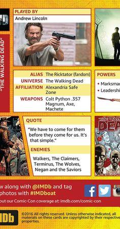 Comic-Con Trading Cards - IMDb
