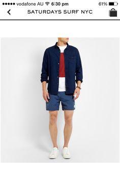 Casual evening beachwear
