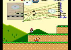 "MarI/O is a program made of neural networks and genetic algorithms that kicks butt at Super Mario World. Source Code: http://pastebin.com/ZZmSNaHX ""NEAT"" Pap..."