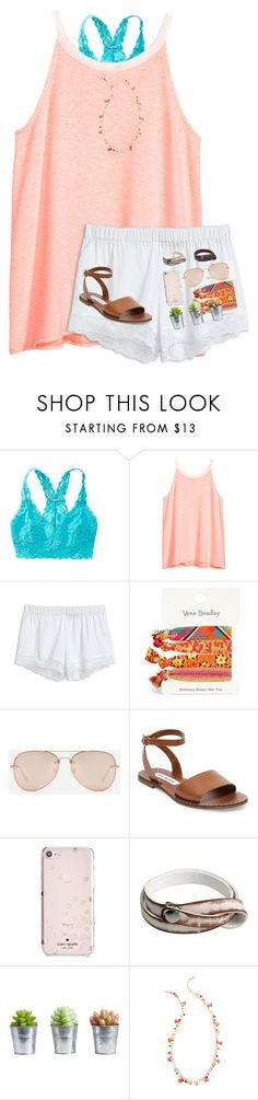 """""""Bahama's next month!"""" by arieannahicks on Polyvore featuring Aerie, H&M, Vera Bradley, CHARLES & KEITH, Steve Madden, Kate Spade, NOVICA, Pottery Barn and Lilly Pulitzer"""