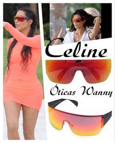 @kimkardashian com seu Celine espelhado. Quer um igualzinho? Tem disponível nas #oticaswanny 😱 😉 #kimkardashian #oticaswanny #celine #oculosespelhado #sunglasses #mexico #ferias