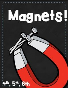Magnetism & Magnetic Force When looking for magnet materials for my graders, I found most either too basic or completely too wordy. So, I complied the must know information, in the most straightforward way I could, into this take home book for Teaching 5th Grade, Teaching Tips, Kindergarten Science, Elementary Science, Teaching Science, Upper Elementary, Fifth Grade, Second Grade, Grade 2