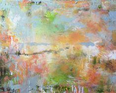 Abstract Tuscan Landscape-- Modern Art