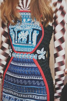 Mary Katrantzou SS17 LFW Womenswear Dazed