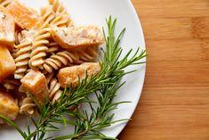 Butterkürbis mit Nudeln Vegan