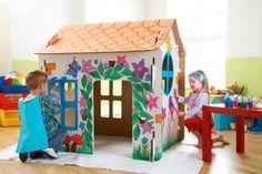 casa cabana kidsonroof cardboard playhouse - Google Search