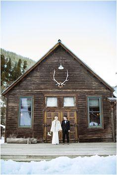 Forest Wedding. Winter Wedding. Dunton Hot Springs Wedding by Destination Photographer Brooke Pavel